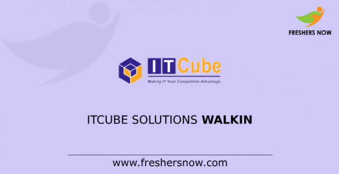 ITCube Solutions Walkin