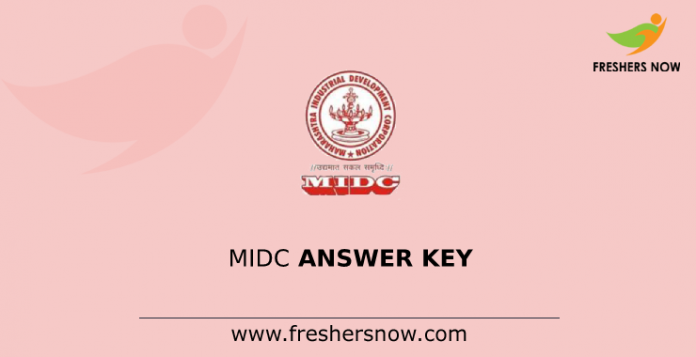 MIDC Answer Key