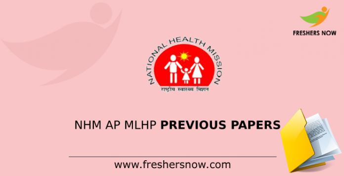 NHM AP MLHP Previous Papers