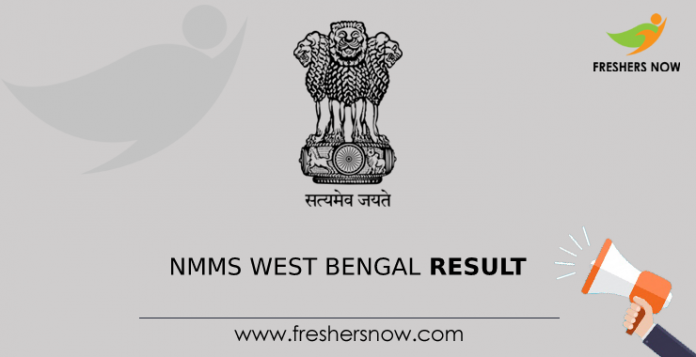 NMMS West Bengal Result