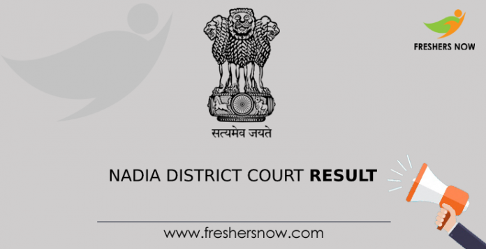Nadia District Court Result