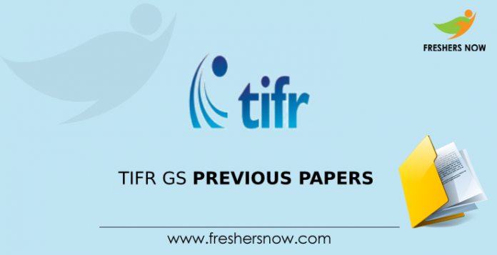 TIFR GS Previous Question Papers