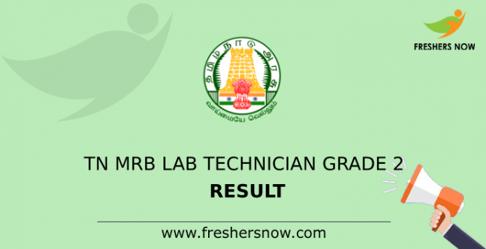 TN MRB Lab Technician Grade 2 Result