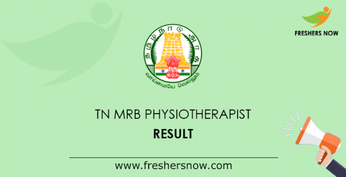 TN MRB Physiotherapist Result