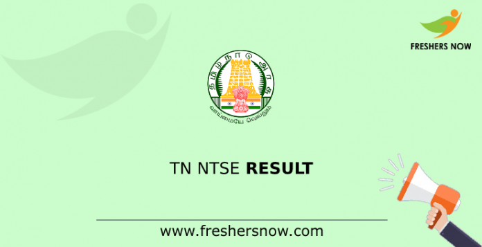 TN NTSE Result
