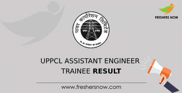 UPPCL Assistant Engineer Trainee Result
