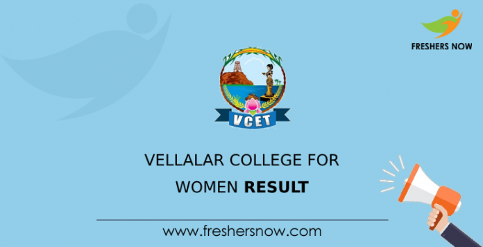 Vellalar College for Women Result
