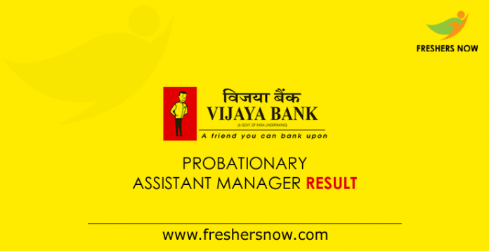 Vijaya-Bank-Probationary-Assistant-Manager-Result