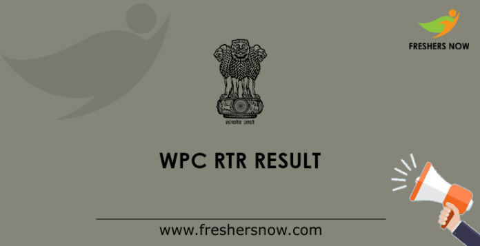 WPC RTR Result