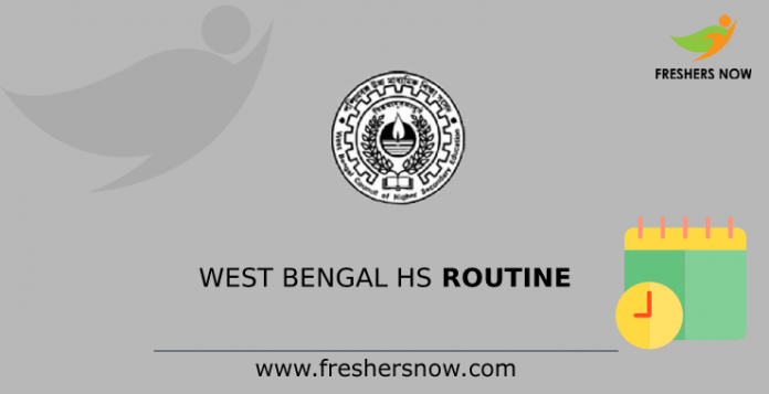 West Bengal HS Routine