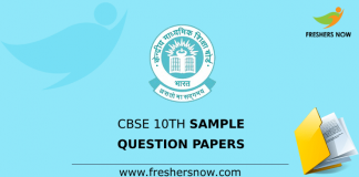 CBSE Class 10 Previous Question Papers