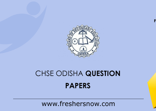 CHSE-odisha-Question-Papers