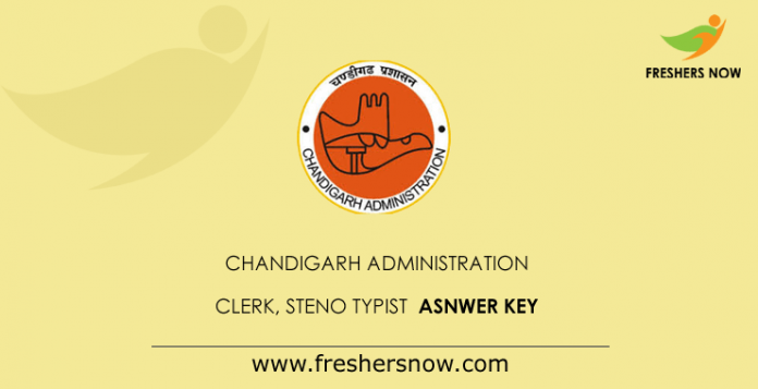 Chandigarh-Administration-Clerk-Steno-Typist-Answer-Key