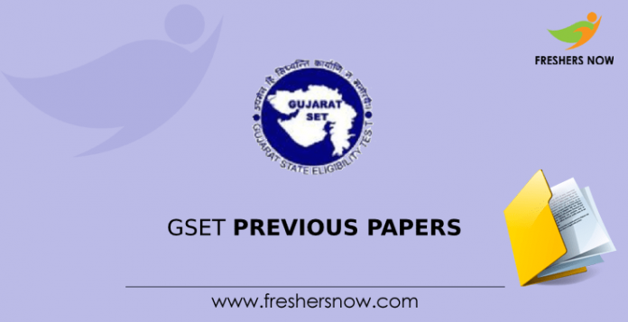 GSET Previous Papers