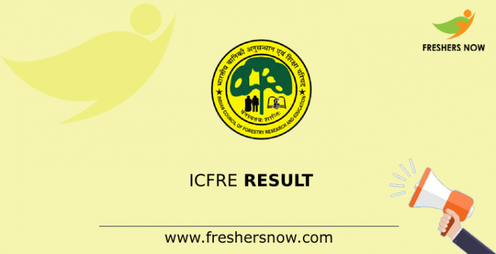 ICFRE Result