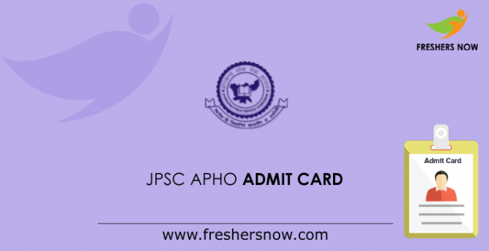 JPSC-APHO-Admit-Card