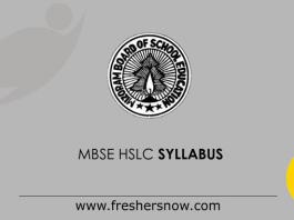 MBSE-HSLC-Syllabus