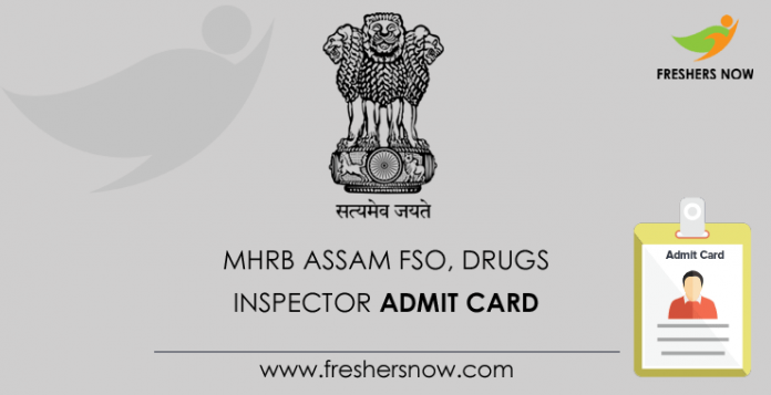 MHRB-Assam-FSO,-Drugs-Inspector-Admit-Card