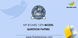 MP Board 12th Question Papers