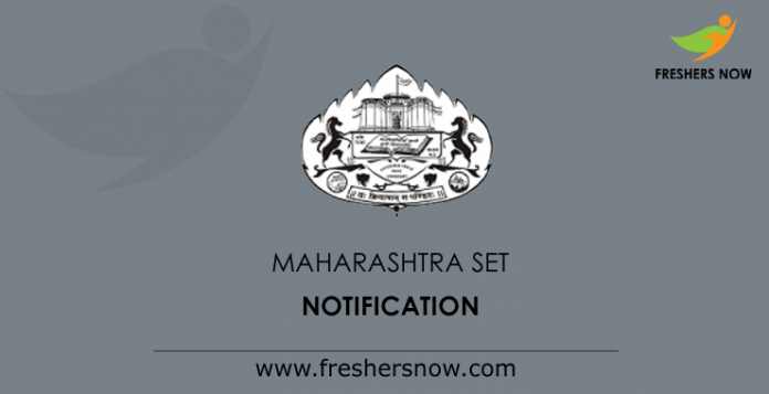 Maharashtra SET Notification