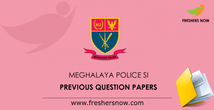 Meghalaya Police Previous Question Papers