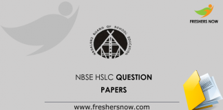 NBSE-HSLC-Question-Papers