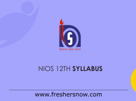 NIOS-12th-Syllabus