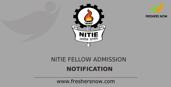 NITIE Fellow Admission Notification