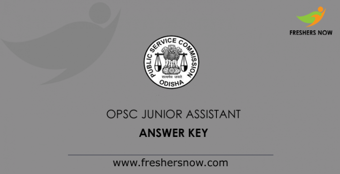 OPSC-Junior-Assistant-Answer-Key