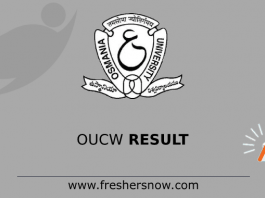 OUCW Result