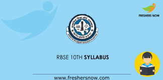 RBSE-10th-syllabus
