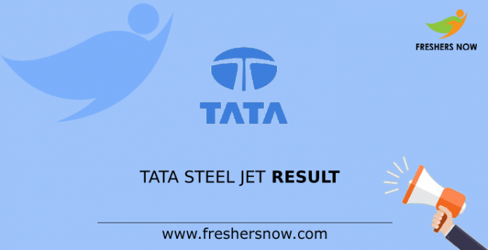 TATA Steel JET Result