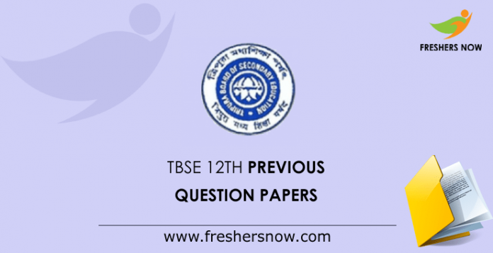 TBSE Madhyamik Previous Question Papers