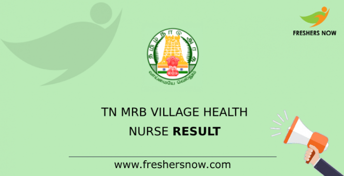 TN MRB Village Health Nurse Result