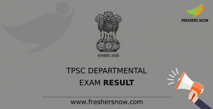 TPSC Departmental Exam Result