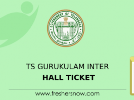 TS Gurukulam Inter Hall Ticket