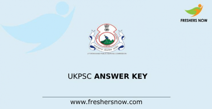 UKPSC Answer Key