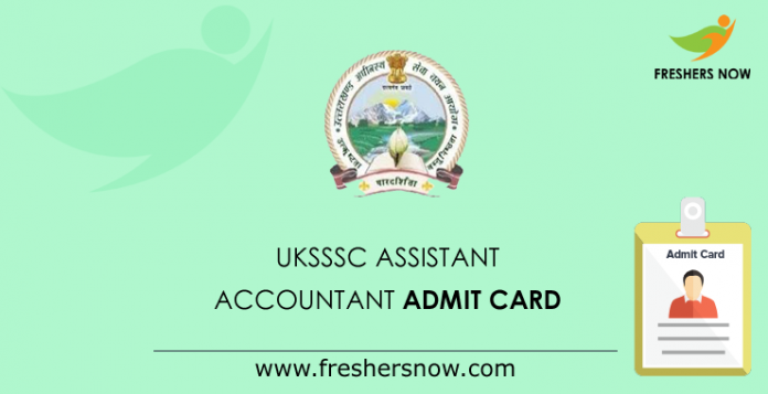 UKSSSC-Assistant-Accountant-Admit-Card