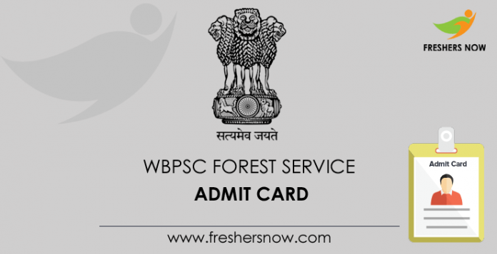 WBPSC-Forest-Service-Admit-Card