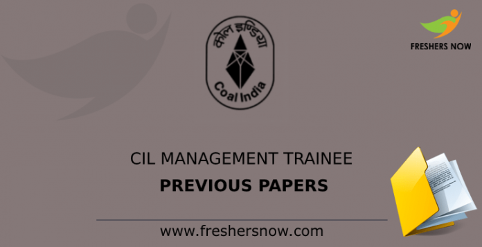 CIL Management Trainee Previous Papers