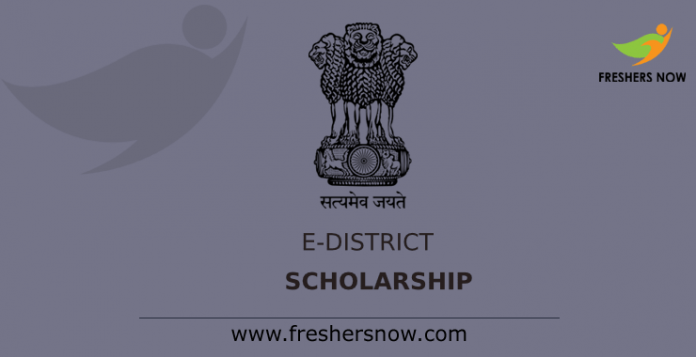 E – District Scholarship