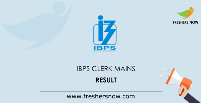 IBPS-Clerk-Mains-Result