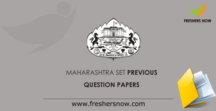 MH SET Previous Question Papers