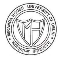 Miranda House Delhi Assistant Professor Recruitment