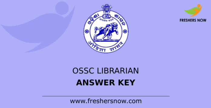 OSSC Librarian Answer Key