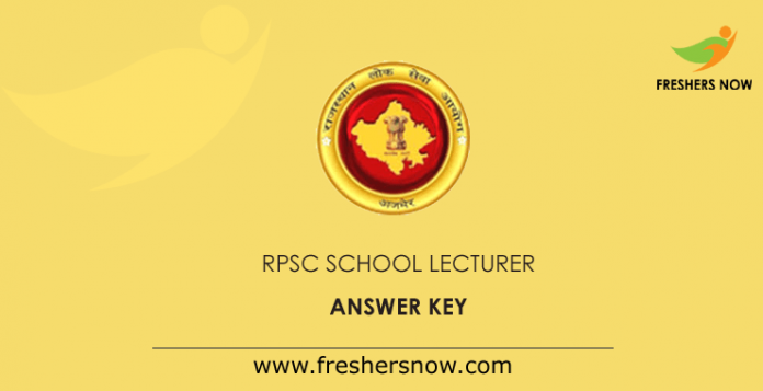 RPSC-School-Lecturer-Answer-Key
