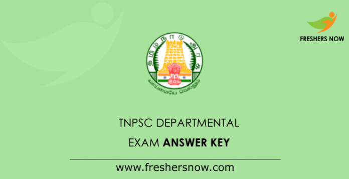 TNPSC-Departmental-Exam-Answer-Key