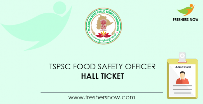 TSPSC Food Safety Officer Hall Ticket 2020 (Released ...