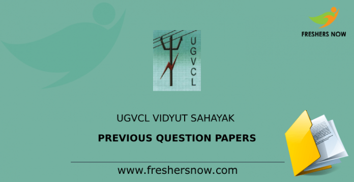 UGVCL Vidyut Sahayak Previous Question Papers