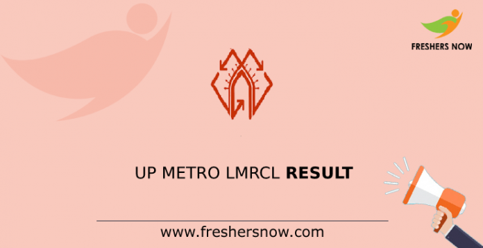 UP Metro LMRCL Result